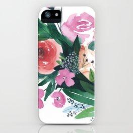 Spring Gatherings iPhone Case