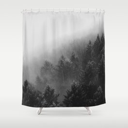 Misty Forest II Shower Curtain