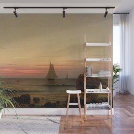 Off the Coast of Watch Hill, Rhode Island by Martin Johnson Heade Wall Mural