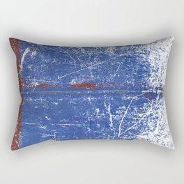 Worn boat hull Rectangular Pillow