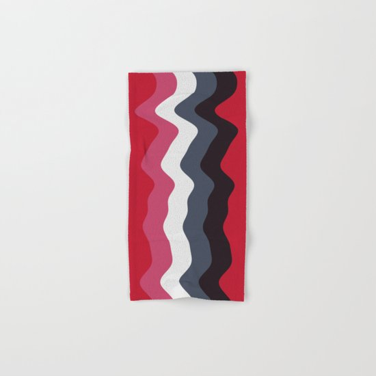 Abstract lines 23 Hand & Bath Towel