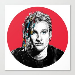 Mr Layne Staley Canvas Print