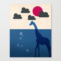 africa Canvas Prints featuring Africa by Mehdi Elkorchi
