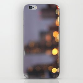 City Lights iPhone Skin
