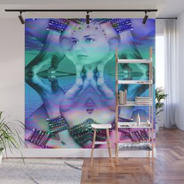 Reflective Dream Wall Mural