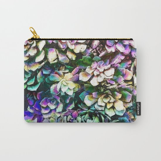 Colorful Abstract Plants Carry-All Pouch