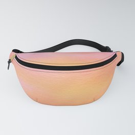 It's just peachy watercolor fanny pack Fanny Pack