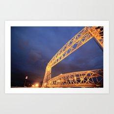 Duluth, Mn. Lift Bridge.  Art Print