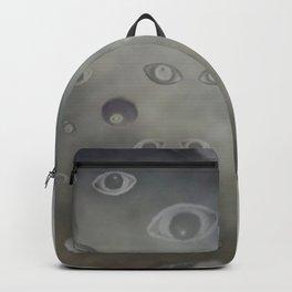 Submerged Eye Print Backpack
