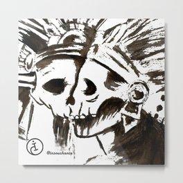 NATIVE'S HOW Metal Print