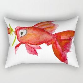 lovers fish Rectangular Pillow