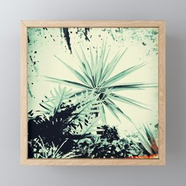 Abstract Urban Garden Framed Mini Art Print