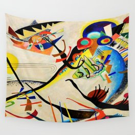 The Bird by Wassily Kandinsky Wall Tapestry