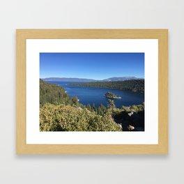 Tahoe in Fall Framed Art Print
