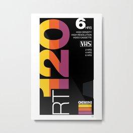 VHS project - GEMINI Metal Print