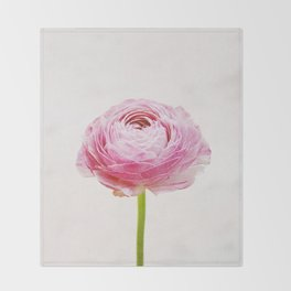 Ranunculus Throw Blanket