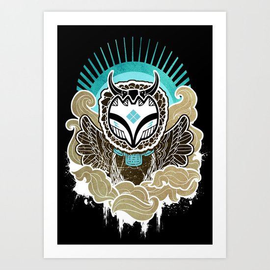Sky Lord Art Print
