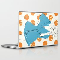 model Laptop & iPad Skins featuring Model by Erica Pizzetti