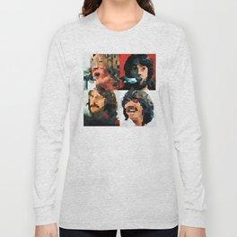 Fab Four Fan Art - Let It Be Watercolor Painting Long Sleeve T-shirt