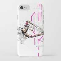 lovers iPhone & iPod Cases featuring Lovers by Herwig Scherabon