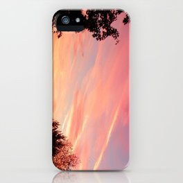 Ithaca Sunset iPhone Case