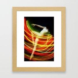 Cozmogonizm Series #29, Color Film, Analog, Art Photo, NUDE Framed Art Print