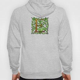 Monogram Alphabet Letter Design 'E' Hoody