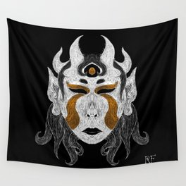 Infernal Lady Wall Tapestry