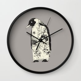 THE PENGUIN Wall Clock