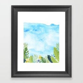 Succ Framed Art Print