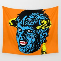 "1989 Wall Tapestries featuring ""Mourning My Youth"" Series 