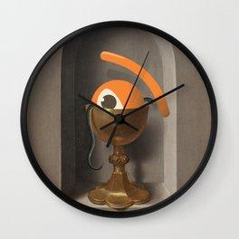 chalice of saint ojolo Wall Clock