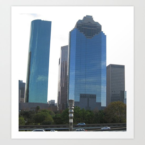 Houston I Art Print