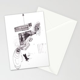 two brothers. Scream and Shout. Stationery Cards