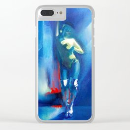"""Dancer"" by Diana Grigoryeva Clear iPhone Case"