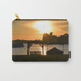Lakeview Sunset Carry-All Pouch