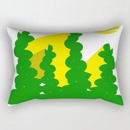 Sun light through the trees  #society6 #decor #buyart #artprint Rectangular Pillow