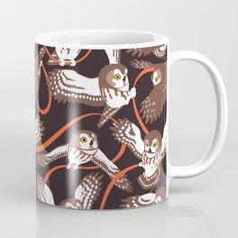 Owls with Ribbon Coffee Mug