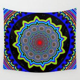 Zoom Mandala Wall Tapestry