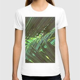 Coconut palm leaves T-shirt