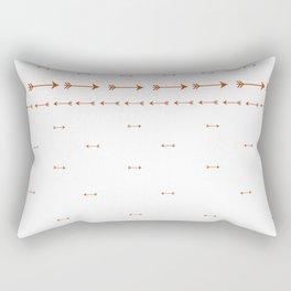 Arrow pattern Rectangular Pillow