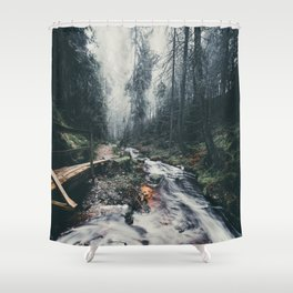 Foggy Feelings Vol.5 Shower Curtain