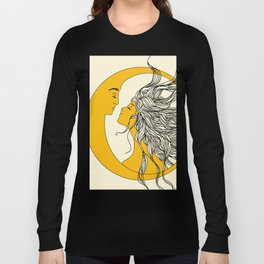 Sun and Moon Langarmshirt