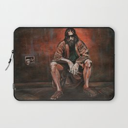 """The Dude, """"You pissed on my rug!"""" Laptop Sleeve"""