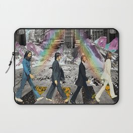abbeyroad collage Laptop Sleeve