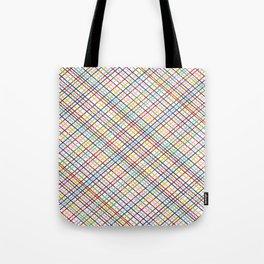 Rainbow Weave 45 Tote Bag