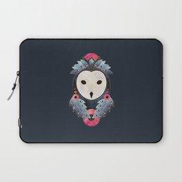 Owl 1 - Dark Laptop Sleeve