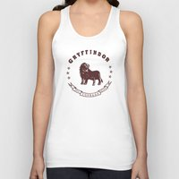 gryffindor Tank Tops featuring Gryffindor House by Shelby Ticsay