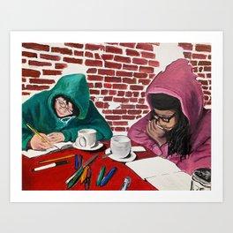 writing club  Art Print