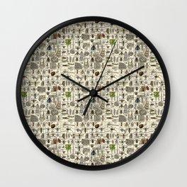 Vintage Entomology Wall Clock